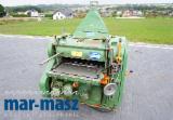 Raboteuse double face KUPFERMUHLE 60, Remorqueur, rabatteur, épaisseur, rabot pour bois, élévation de table électrique