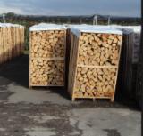 Bois de chauffage, Granulés et résidus - Vend Bûches Fendues Frêne Blanc