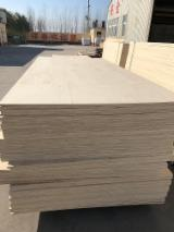 Bleached white Poplar plywood