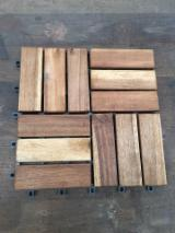 Garden Wood Tile Garden Products - Eucalyptus Garden Deck Tiles