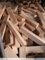 Brandhout - Resthout Brandhout Houtblokken Niet Gekloofd - zaagafval / resthout van populier voor brandhout