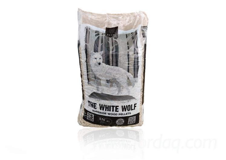 """""""The White Wolf"""" Granules de Bois"""