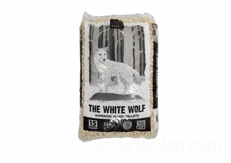 """""""The White Wolf"""" Wood Pellets, 6mm"""