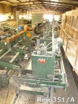 1 chariot de sciage MEM CGRPS 5 bornes pneumatique mono axe longueur 8.5 ml + amenage hydraulique
