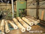Machinery, Hardware And Chemicals - Used 20/09/99 E. GILLET TO 1400 GI - DG Log Band Saw Vertical For Sale France