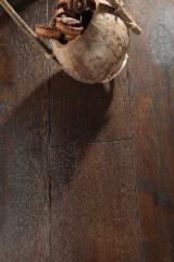 Solid Wood Flooring - Solid Oak Flooring, On Edge/ T&G, 16-21 mm