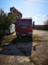 Oprema Za Šumu I Žetvu Kamion - Kamion Scania Polovna 2003 Rumunija