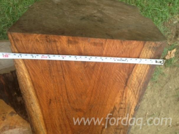 Teak-square-logs-from