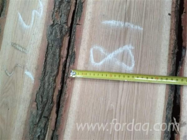 Unedged European KD Oak Timber, 32 mm, ABC Grade