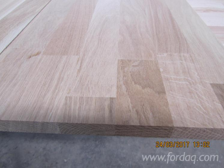 Wholesale Beech, Oak 20-40 mm Finger Jointed (Discontinuous Stave) European hardwood from Romania, Prahova