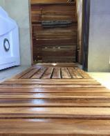 Flooring Tiles in Solid Teak Wood from Ecuador