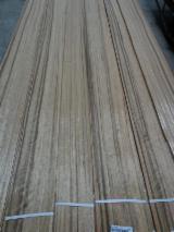 天然木皮单板, 平切,平坦