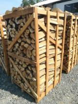 Firewood, Pellets And Residues - firewood in 1x1x1.8 and 1x1x1 m pallets