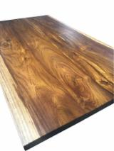 VietNam solid wood slab for interior and outdoor furniture