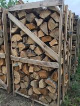 FSC Eiche Brennholz Gespalten 10 cm