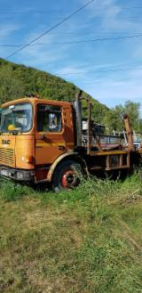 Short Log Truck - Used Roman 2000 Short Log Truck Romania