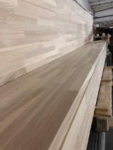 Edge Glued Panels - Ash Finger Jointed (Discontinuous stave) panels