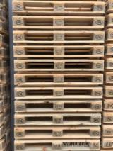 Pallets De Madera En Venta - Compra Pallets A Través De Fordaq - Venta Pallet Euro - Epal Para Reciclaje, Para Reparación Ucrania