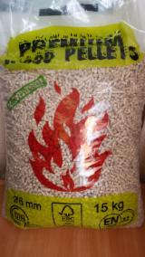 Wood Pellets - ENplus Spruce , Pine  - Scots Pine Wood Pellets 6 mm