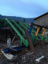 HIT Woodworking Machinery - Used HIT 2002 Log Handling Equipment For Sale Italy