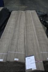 土耳其 供應 - 天然木皮单板, 黑胡桃, 切四等分,华纹