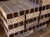供应 乌克兰 - 木质颗粒 – 煤砖 – 木碳 木砖 榉木, 橡木