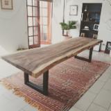 Dining Room Furniture - Live Edge Table, Panama Hardwood