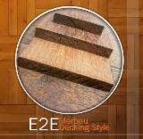 Exterior Decking for sale. Wholesale Exterior Decking exporters - Status Merbau, Kapur and Bangkirai (Yellow Balau) Decking, E2E for Sale