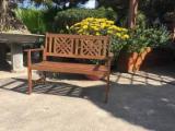 Art & Crafts/Mission Garden Furniture - FSC Eucalyptus Garden Benches