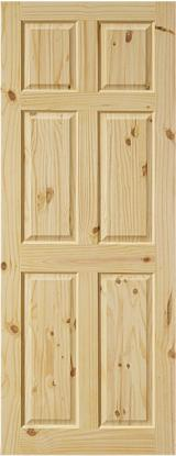 Wood Components, Mouldings, Doors & Windows, Houses South America - Knotty Pine doors