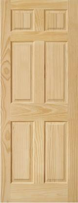 Wood Components, Mouldings, Doors & Windows, Houses South America - Clear Pine doors