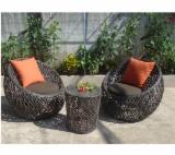Find best timber supplies on Fordaq - Elegant design poly rattan coffee set, high quality