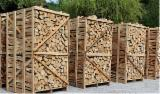 Firewood, Pellets And Residues - FSC Beech, Oak, Hornbeam Firewood/Woodlogs Cleaved 8 -14 cm