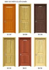 Wood Doors, Windows And Stairs - Door solid wood from Vietnam