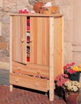 Vender Conjuntos Para Dormitórios Kit - Montagem / Bricolagem DIY Madeira Macia Norte-americana Cedro Branco Do Norte Canadá