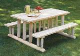 Garden Furniture Kit - Diy Assembly - Garden Furniture made of Northern White Cedar 100% natural