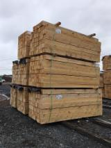 Sawn Softwood Timber  - 4 in Air Dry (AD) Northern White Cedar from Canada