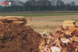 Energie- Und Feuerholz Rinde - Kiefer - Föhre Rinde