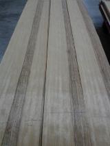 天然木皮单板, 艳丽榄仁木, 平切,平坦