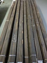 Drewniane Orkusze Okleiny Z Całego Świata - Złożone Palety Okleiny - Fornir Naturalny, Okleiny Naturalne, Ebony, Macassar, Płasko Cięte, Gładkie
