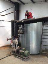 Woodworking Machinery - Used Sugimat 700 000 kcal/h Gasoil Boiler, 2000
