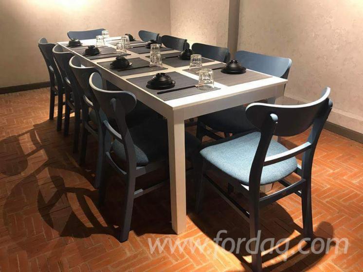 Gray Maya Rubberwood Hotel Furniture - Contract furniture