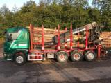 Forest & Harvesting Equipment Short Log Truck - Used Scania R480 8 X 4 Tridem 2008 Short Log Truck Germany
