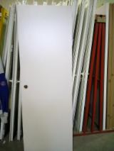 Doors, Windows, Stairs - We Need HDF PVC Doors, Ash White Color