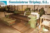 Woodworking Machinery Veneer Slicer - CREMONTA TN 4000 horizontal slicer