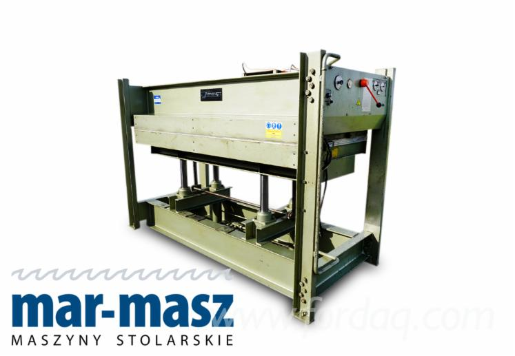 JOOS-hydraulische-Presse--elektrisch-beheizte-Regal