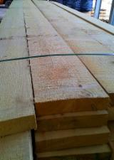 Pressure Treated Lumber And Construction Lumber  - Contact Producers - Dried Spruce Timber, FSC, 52 x 250 mm