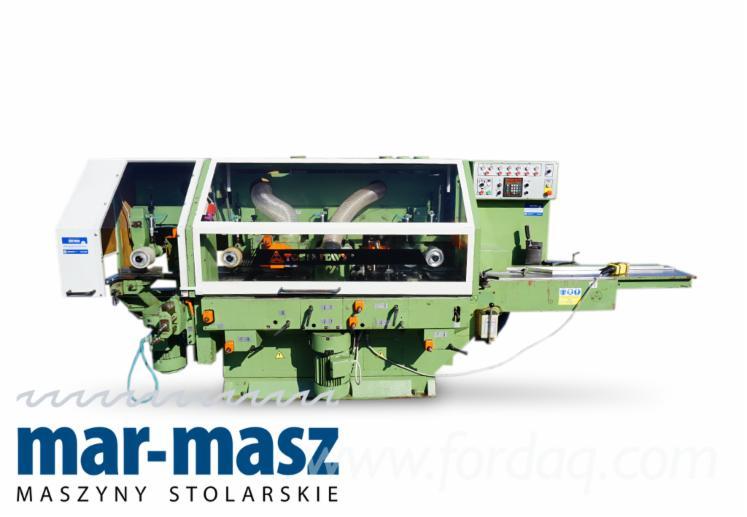 Venta-Moldureras-Para-Trabajar-Tres-Y-Cuatro-Caras-TOS-Svitavy-FWP-22-Usada-1996