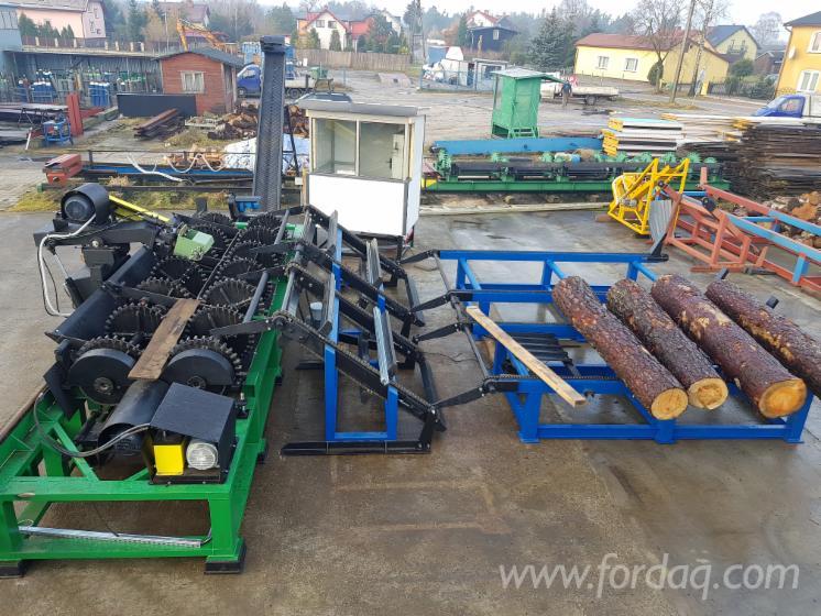 Neu JUWAL Entrindungsanlage Zu Verkaufen Polen