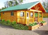 Holzhäuser - Vorgeschnittene Fachwerkbalken - Dachstuhl Zu Verkaufen - Holzhäuser Fichte Bosnien-Herzegowina zu Verkaufen